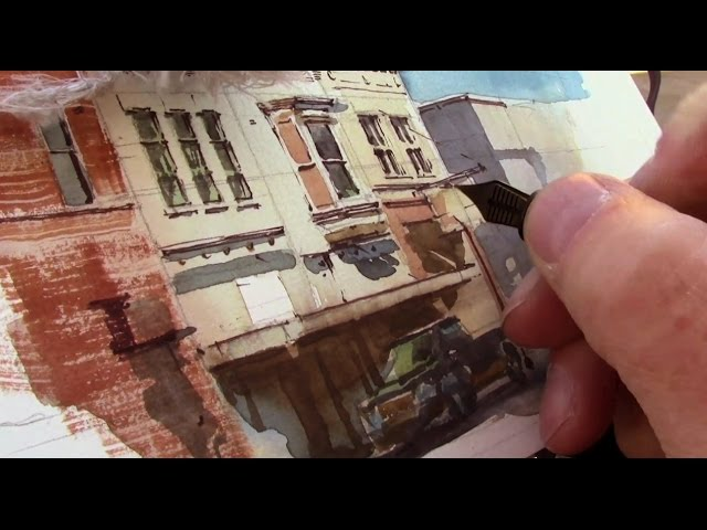 Street Painting in Indiana with James Gurney