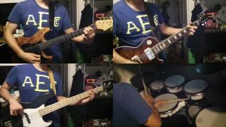 kanaboonのバトンロードのギター、ベース、ドラムを弾いて叩いてみまし...
