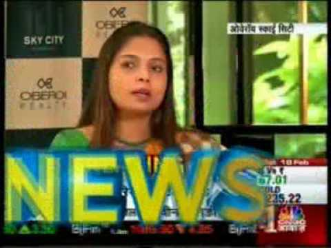 CNBC Awaaz, Feature on Sky City by Oberoi Realty