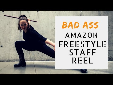 BAD ASS AMAZON FREESTYLE STAFF SPINNING REEL