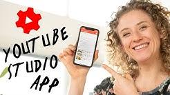 Zo werkt de Youtube Studio App | App voor Youtubers! | de Videomakers