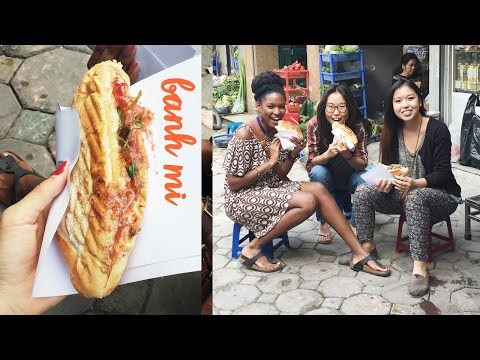Banh Mi in Hanoi ft. Charly Cheer & Annie Vu