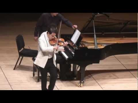 Giora Schmidt & Shai Wosner play Wieniawski Polonaise No. 1 in D Major