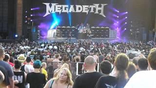Megadeth - Symphony of Destruction @ Mayhem Fest - Denver, CO July 17, 2011