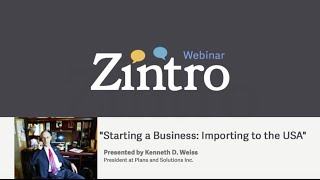 """Starting a Business: Importing to the USA"""