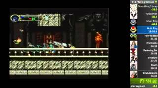 Castlevania: Symphony of the Night glitchless speedrun in 34:28