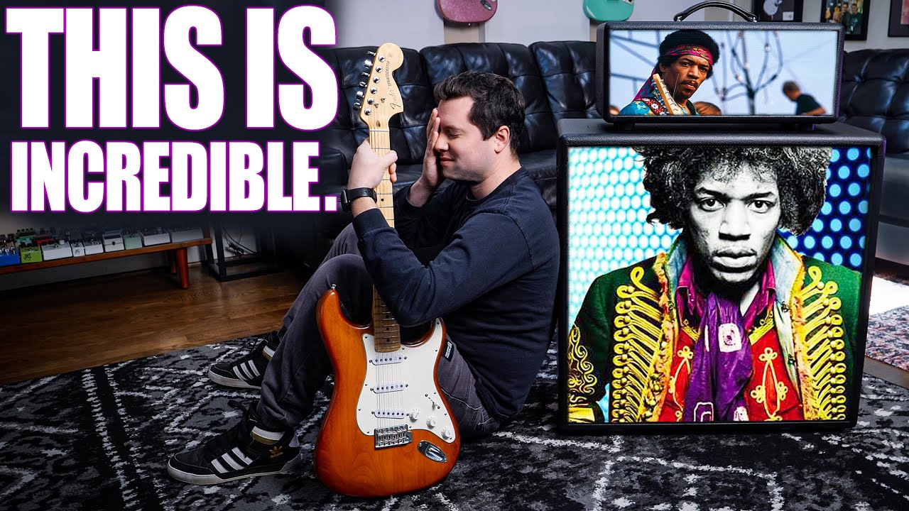 They Rebuilt JIMI HENDRIX's Actual Guitar Amp... and sent it to ME