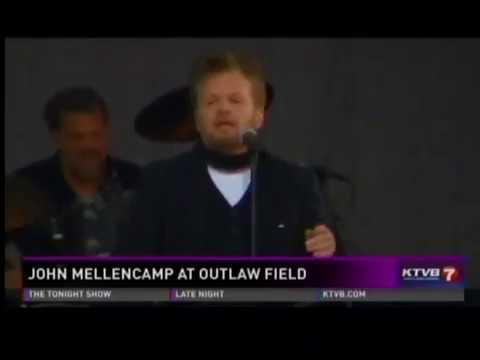 John Mellencamp Sad Clowns & Hillbillies Tour Boise News Clip
