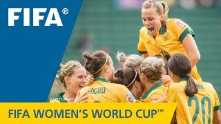 HIGHLIGHTS: Australia v. Sweden - FIFA Women's World Cup 2015