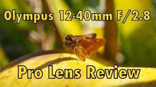 Olympus 12-40mm f/2.8 Pro Lens Review