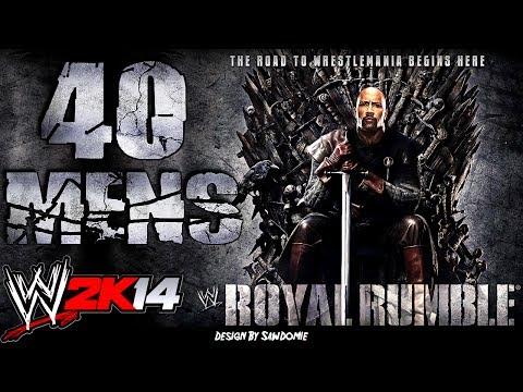 WWE 2K14: Royal Rumble 40 MENS
