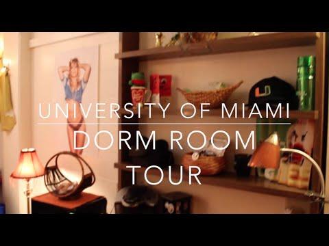 University of Miami Dorm Room Tour