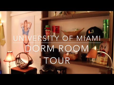University Of Miami Dorm Room Tour   YouTube Part 15