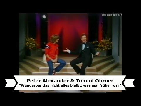 Peter Alexander & Tommi Ohrner singen im Duett