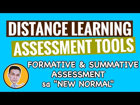 """DISTANCE LEARNING ASSESSMENT TOOLS AND STRATEGIES 
