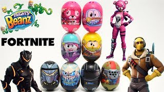 *NEW* Fortnite Mighty Beanz 4 Pack By Moose Toys Unboxing/Review