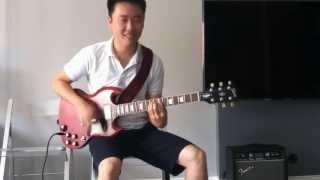 happy birthday song rock version electric guitar
