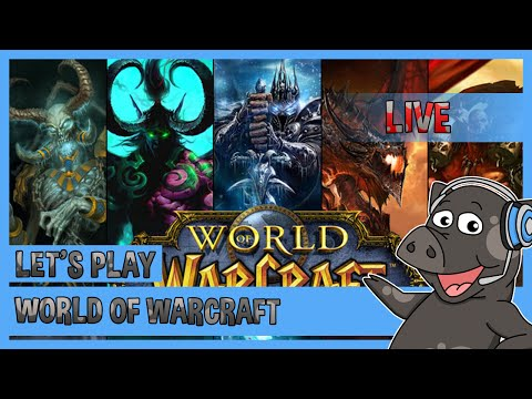 World of Warcraft - Leveling for the first time in  year's!