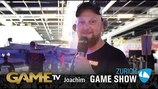 Game TV Schweiz - Interview mit Joachim | ZMONTAGEN | Zürich Game Show