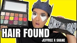 SHANE DAWSON HAIR IN MAKEUP PALETTE DRAMA JEFFREE STAR
