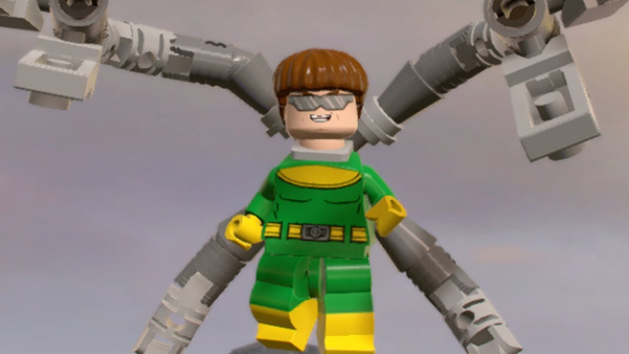 marvel lego doctor octopus