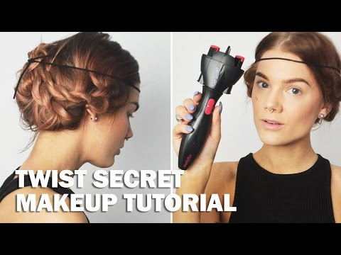 Twist Secret (with subs) - Linda Hallberg Makeup Tutorials