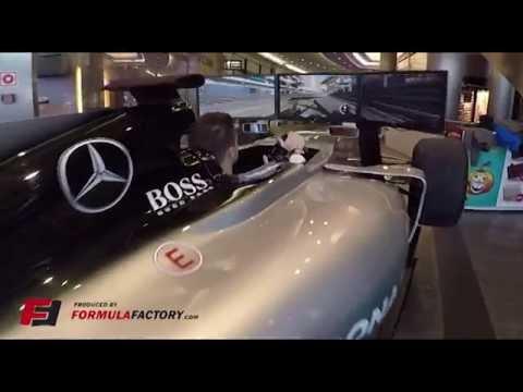F1 Motion Simulator Full Size Show Car