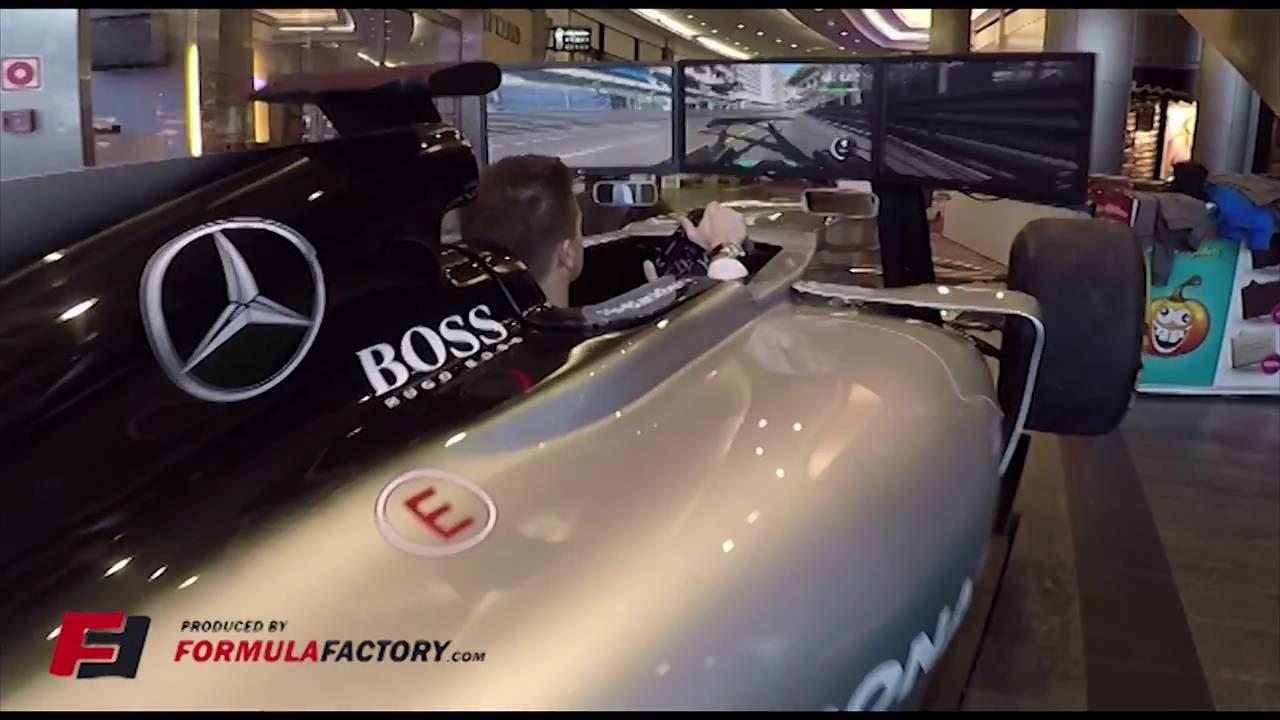 F Motion Simulator Full Size Show Car YouTube - F1 show car