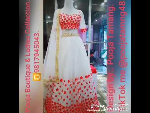 Lehenga choli, design by Pooja Tamang. Pooja boutique & ladies collection