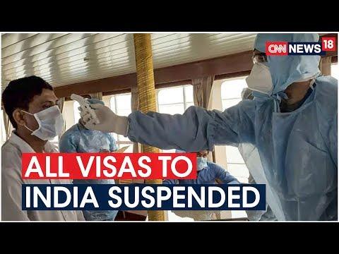 Coronavirus Outbreak: 60 Active Cases, India Suspends All Existing Tourist Visas   CNN News18