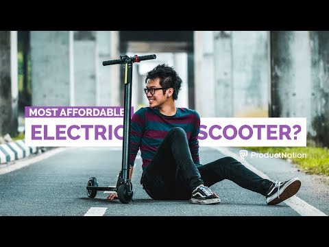 Could This Be The Best, Affordable Electric Scooter in Malaysia? | ProductNation