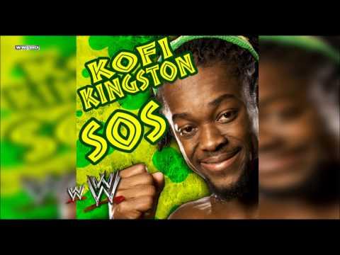 "WWE: ""S.O.S"" (Kofi Kingston) Theme Song + AE (Arena Effect)"