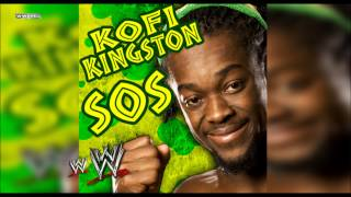 "WWE: ""S.O.S"" (Kofi Kingston) Theme Song + AE (Arena Effect)"