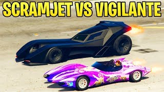 GTA Online: Declasse Scramjet vs Vigilante vs Rocket Voltic (Which One Is Better)
