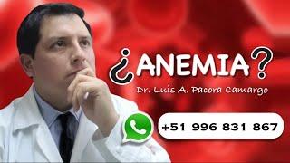 Sangre perdida y signos de anemia de por sintomas