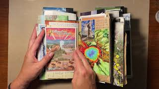 Flip Through of (Mostly) Completed Journaling in the 2021 Travel Journal