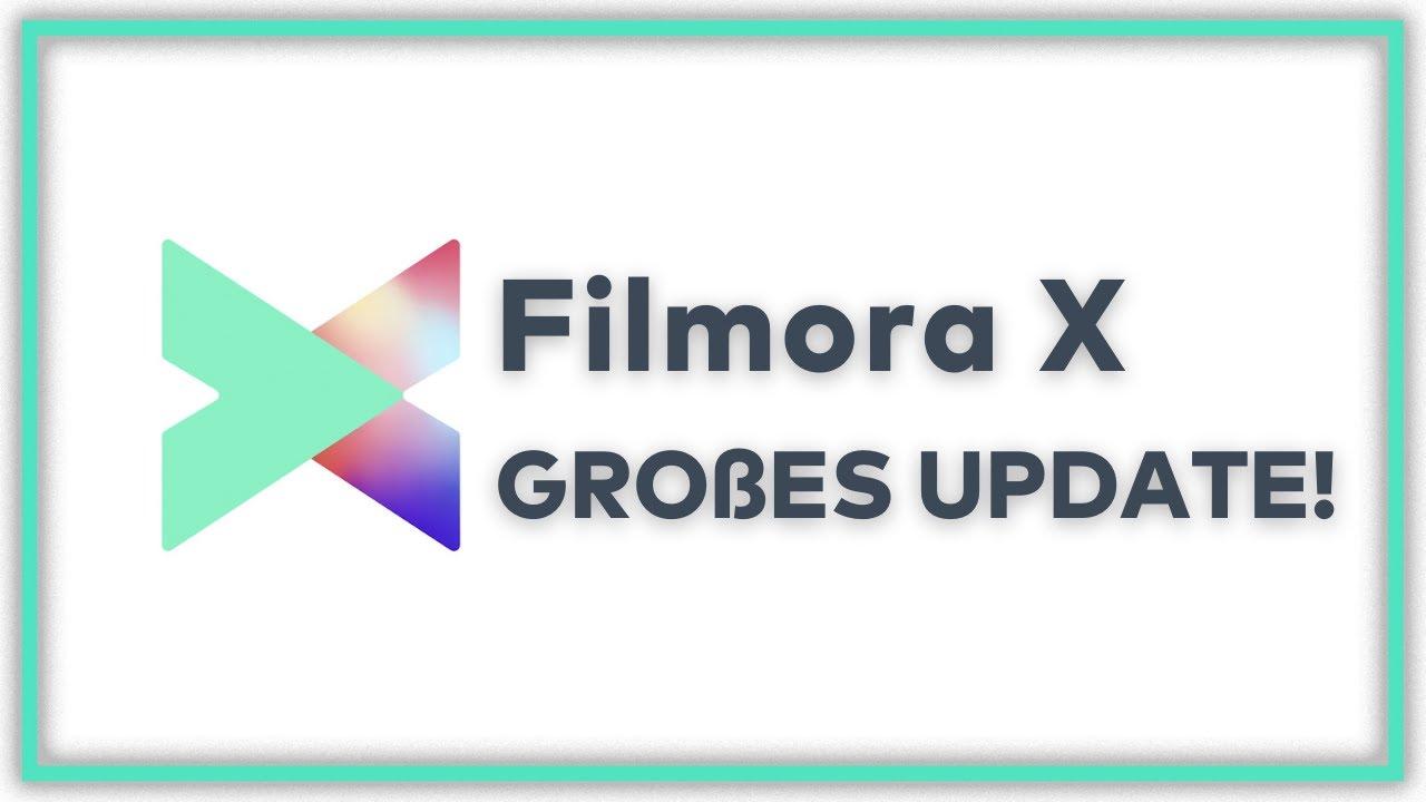 Neu! Wondershare Filmora X GROßES UPDATE | Bewegungsverfolgung, Keyframes und mehr!