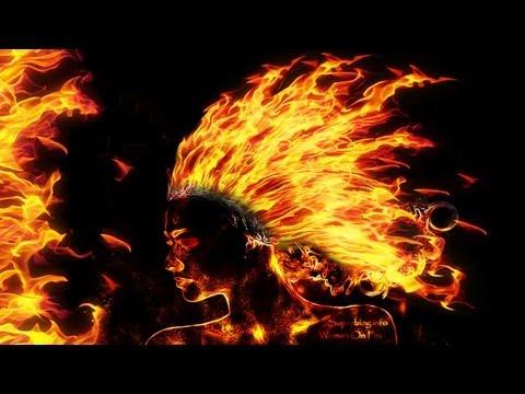 Cara Membuat Efek Api Pada Photo