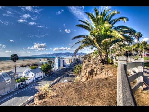 Palisades Park and Ocean Avenue , Santa Monica,  CA