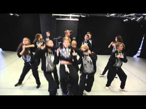 BMYP Fame 2014 rehearsal
