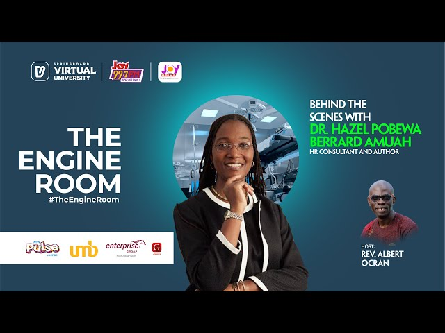 A corporate secrets edition of #TheEngineRoom with HR Expert Dr. Hazel Berrard Amuah. Absolutely lit