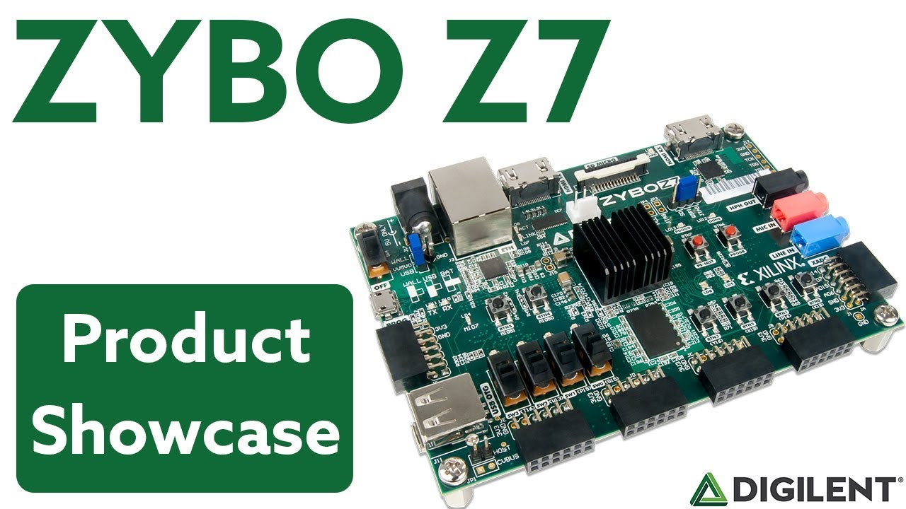 Zybo Z7 Introduction Youtube Digilent Jtag Cable Schematic Usb