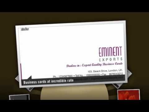 Visiting card design youtube visiting card design reheart Gallery