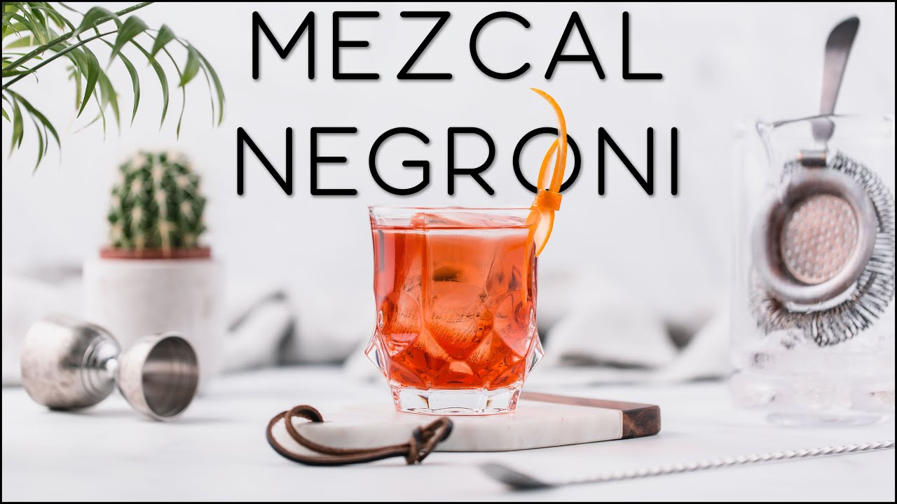 How to make a Negroni with Mezcal - The Mezcal Amaroni cocktail recipe?