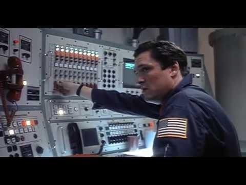 test alarm scene, WARGAMES, 1984.
