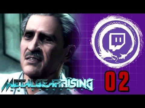METAL GEAR RISING: REVENGEANCE  Metal Gear Saga Part 39: Desperados Lab  Stream Four Star