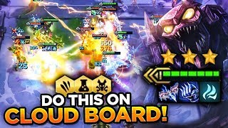 YOU NEED TO DO THIS ON CLOUD BOARDS! FREE WINS! | TFT | Teamfight Tactics