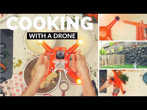 Cooking with Drone
