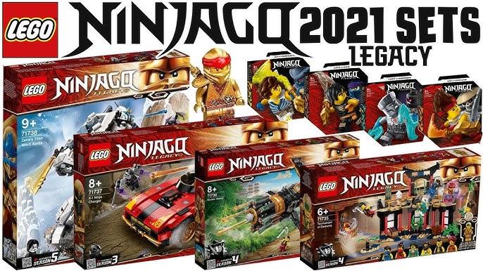 Download and upgrade Lego Ninjago Legacy 2021 Hd Set ...
