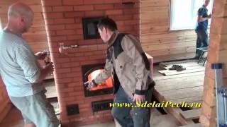 видео Устройство печки